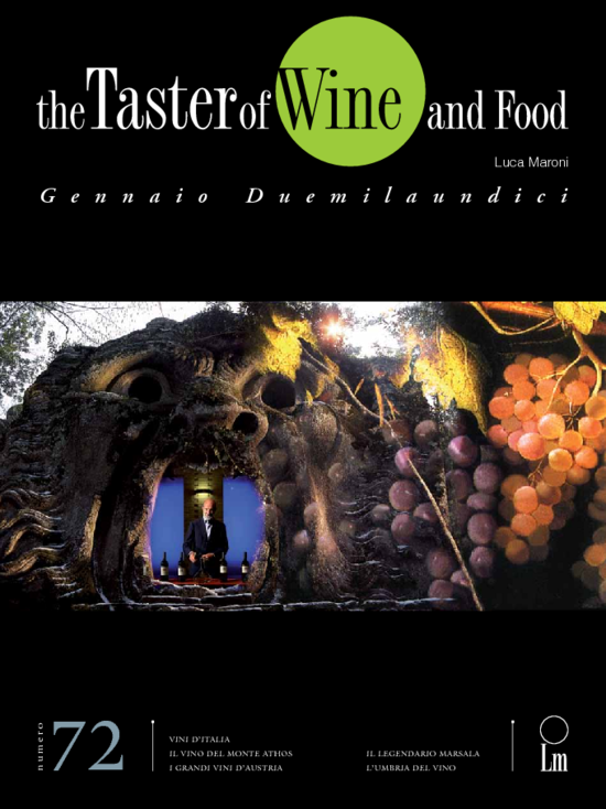 "Cover ""Wine and Food The Taster"""