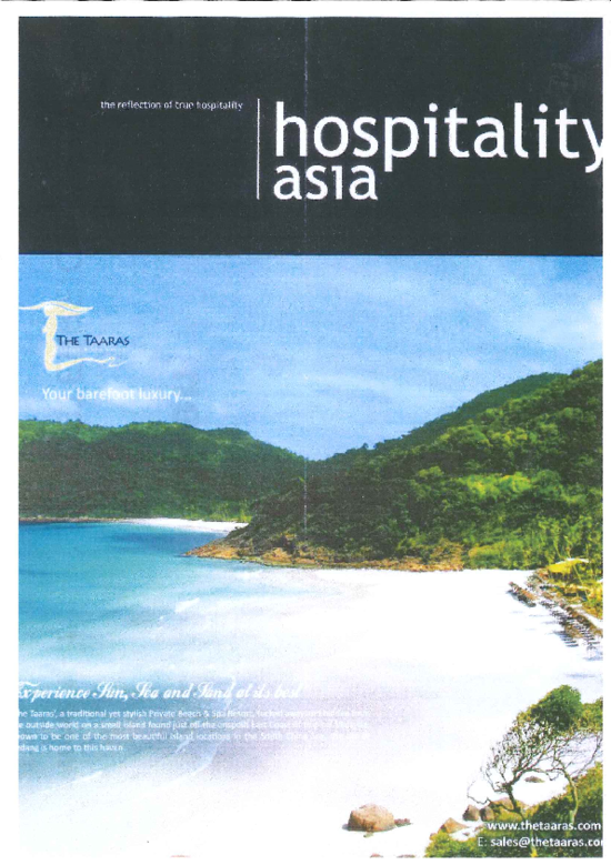 "Cover ""Hospitality Asia"""