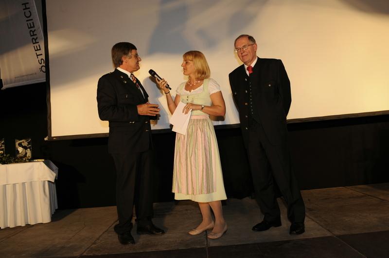 Weintaufe Österreich und Bacchuspreisverleihung 2010